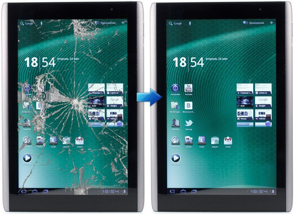 Замена сенсора Acer Iconia Tab A500, Iconia Tab A501