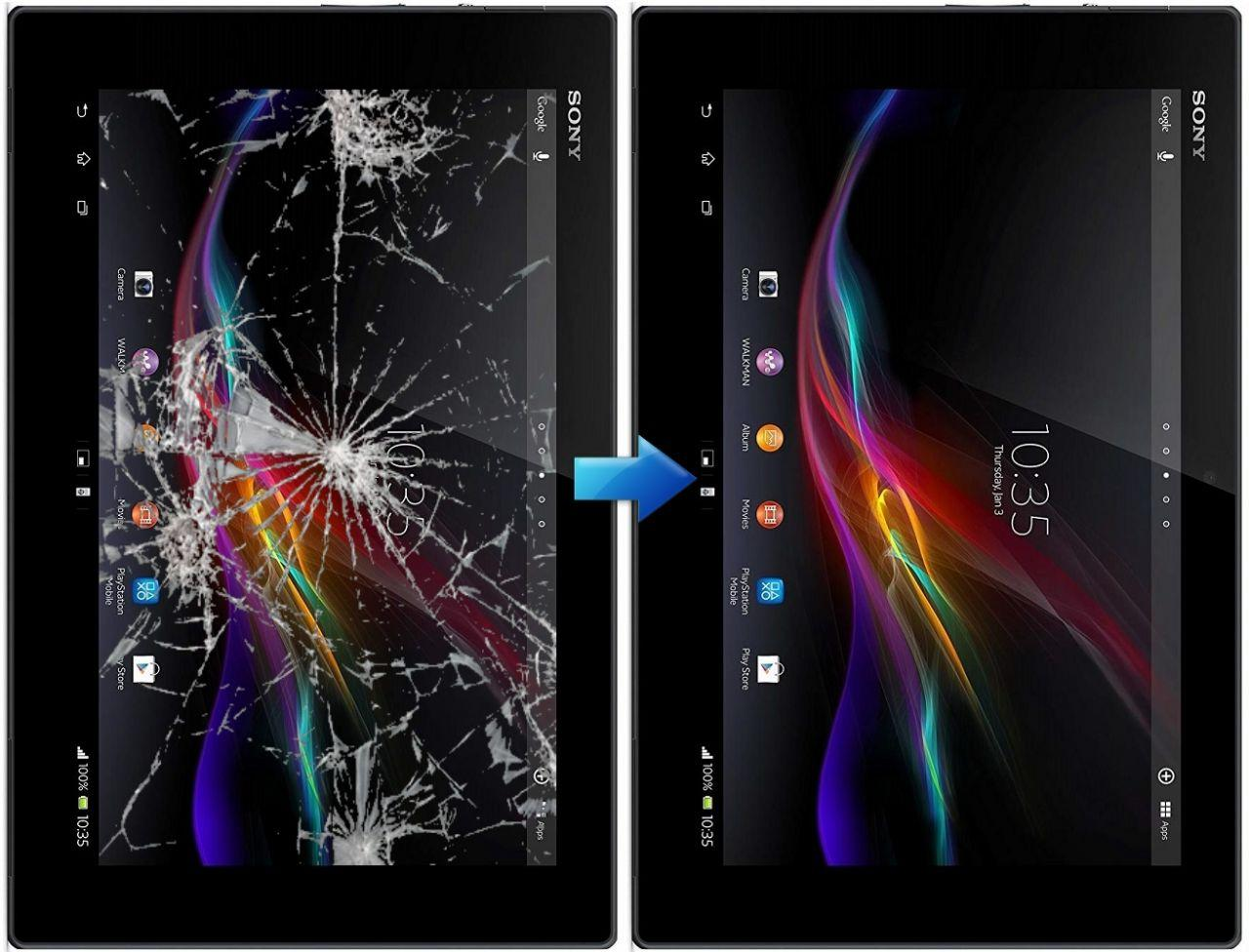 Замена сенсора Sony Xperia Tablet Z1