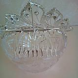 Детская корона, диадема на гребешке, тиара для девочки, высота 4,5 см., фото 2