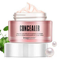Крем консилер для лица Images Concealer Pink Snow Muscle Lazy Cream (50г), фото 1