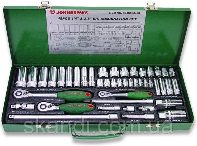 Набор инструментов Jonnesway 45 элементов JS04H52345S
