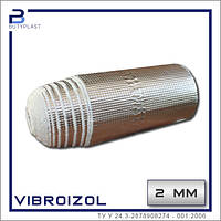 Віброізоляція Виброизол рулон, 2мм, 330 мм, фольга 70 мкм
