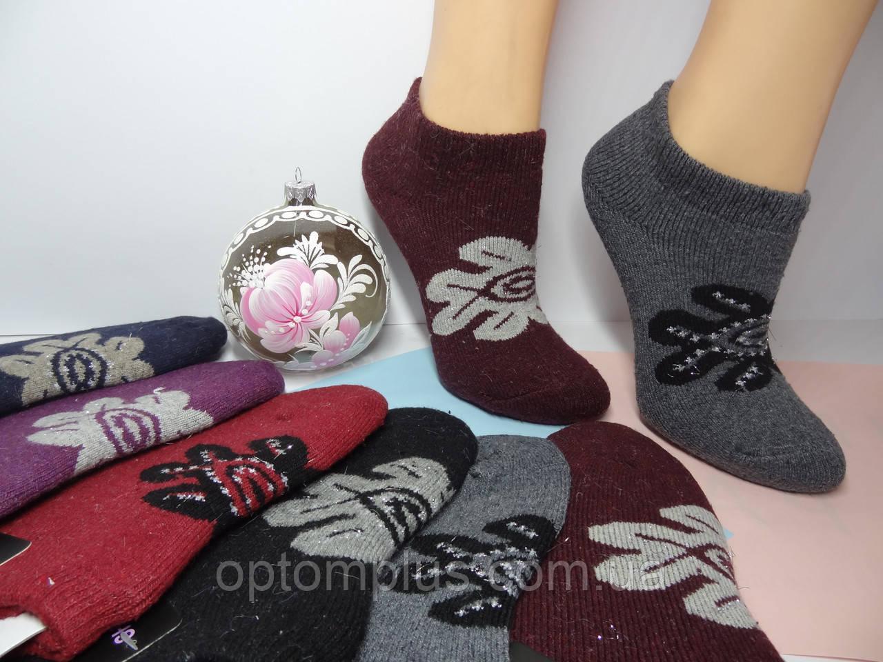 Шкарпетки жіночі короткі зима (23-25 р) купити оптом від складу 7 км
