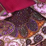 Фаворит 1344-6, павлопосадский платок шерстяной с шелковой бахромой, фото 4