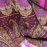 Фаворит 1344-6, павлопосадский платок шерстяной с шелковой бахромой, фото 9