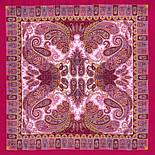 Фаворит 1344-6, павлопосадский платок шерстяной с шелковой бахромой, фото 2