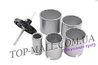 Набор корончатых сверл по плитке Miol - 5 шт. (33, 53, 67, 73, 83 мм) кейс