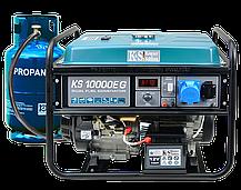 Генератор газобензиновый Konner&Sohnen KS 10000Е G (8 кВт), фото 2