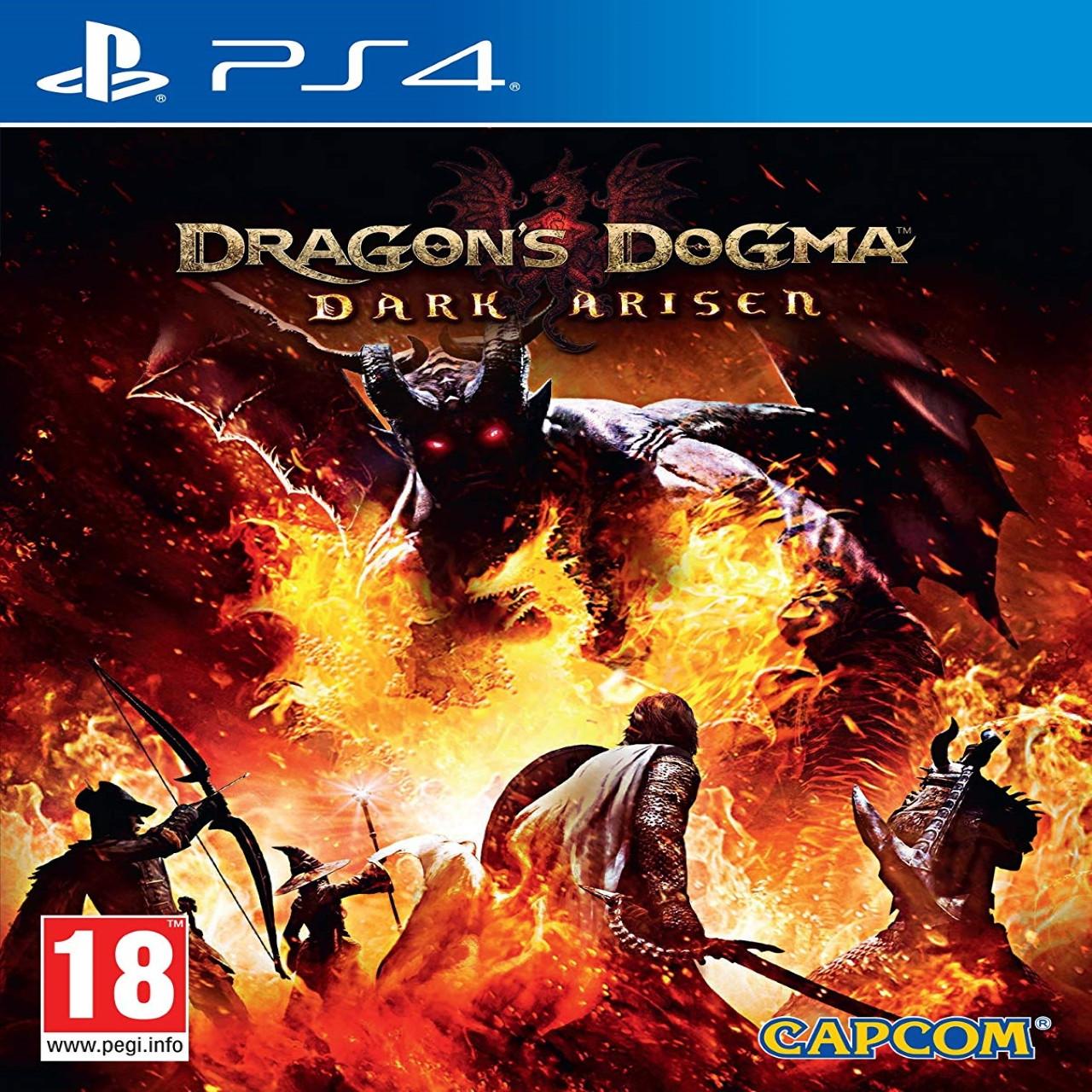 Dragon's Dogma dark Arisen ENG PS4  (NEW)