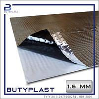 Виброизоляция Butyplast 1,6 мм, 350*500мм, фольга 100мкм