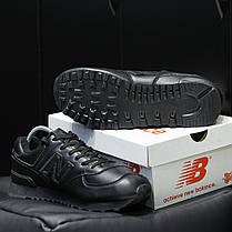 """Кроссовки New Balance 574 """"Черные"""", фото 3"""