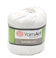 Yarnart Bamboo № 550 белый