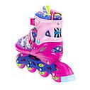 Роликовые коньки Nils Extreme NJ4605A Size 30-33 Pink, фото 5