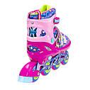 Роликовые коньки Nils Extreme NJ4605A Size 30-33 Pink, фото 6
