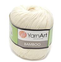Yarnart Bamboo № 552 молочный