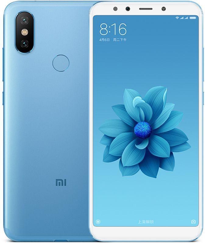 Смартфон Xiaomi MI A2 Lite 3/32 Blue [Global] (M1805D1SG) EAN/UPC: 6941059617952