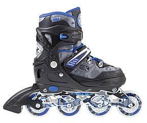 Роликовые коньки Nils Extreme NA1118A Size 35-38 Blue