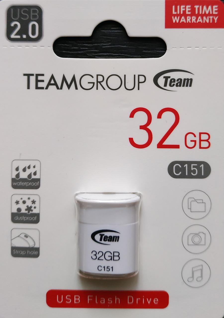 Флеш накопитель Team C151 32 гб белый