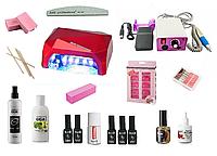 Стартовый набор Kodi для покрытия ногтей с гибридной лампой и фрезером Lina 25000 оборотов