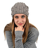 "Молодіжна шапка ""Nord"" на флісі Джудіт Капучіно"