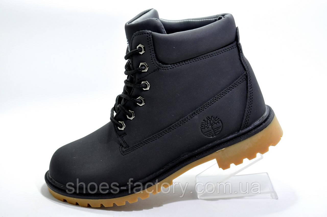 Зимние ботинки в стиле Timberland, на меху (Унисекс)