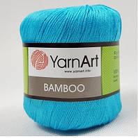 Yarnart Bamboo № 557 бирюза