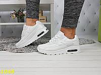 Кроссовки аирмаксы белые, фото 1