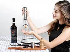 Умный штопор Xiaomi Electric Wine Bottle Opener Circle Joy Серебристый (CJ-EKPQ01), фото 3