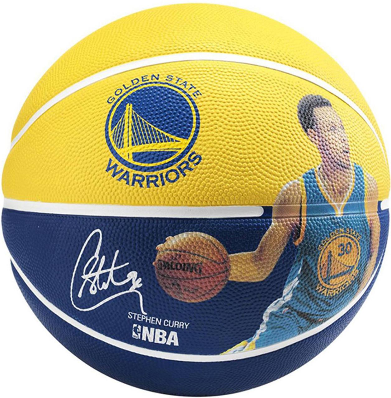 Мяч баскетбольный Spalding NBA Player Stephen Curry Size 7