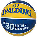 Мяч баскетбольный Spalding NBA Player Stephen Curry Size 7, фото 2