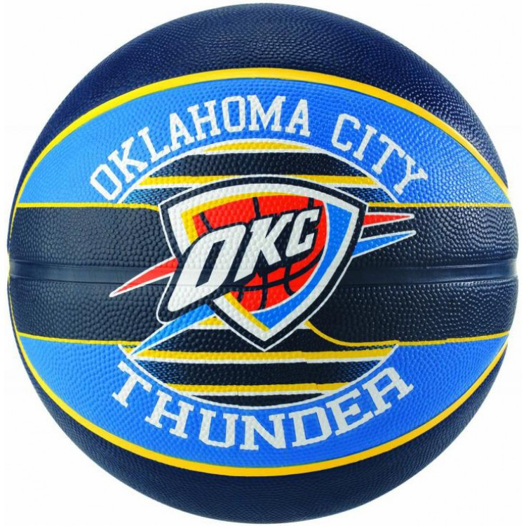Мяч баскетбольный Spalding NBA Team OC Thunder Size 7