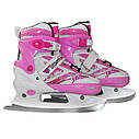 Роликовые коньки SportVida 4 в 1 SV-LG0017 Size 35-38 Pink, фото 3