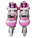 Роликовые коньки SportVida 4 в 1 SV-LG0017 Size 35-38 Pink, фото 4