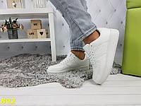 Кроссовки форсы белые низкие, фото 1