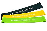 Резинка для фитнеса и спорта (лента-эспандер) эластичная 4FIZJO Mini Power Band 3 шт 4FJ0008