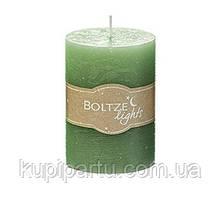 Свеча зеленый воск h10 d7см Boltze 1008623
