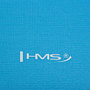 Коврик (мат) для йоги и фитнеса HMS YM01 PVC 3 мм Sky Blue, фото 6