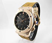 Часы Hublot Fusion Classic Rose Gold/Black 42mm (Механика). Реплика, фото 1