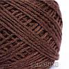 Пряжа акрил 100 % цвет - коричневый