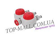 "Таймер для подачи воды Intertool - 3/4"" x 1/2"" (3 выхода) x 15-120 мин"