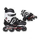 Роликовые коньки Nils Extreme NA12333 Size 39 Black/White, фото 6