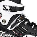 Роликовые коньки Nils Extreme NA12333 Size 39 Black/White, фото 10