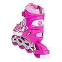 Роликовые коньки Nils Extreme NJ1828A Size 31-34 Pink, фото 2