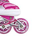 Роликовые коньки Nils Extreme NJ1828A Size 31-34 Pink, фото 8