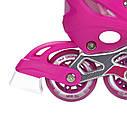 Роликовые коньки Nils Extreme NJ1828A Size 31-34 Pink, фото 10