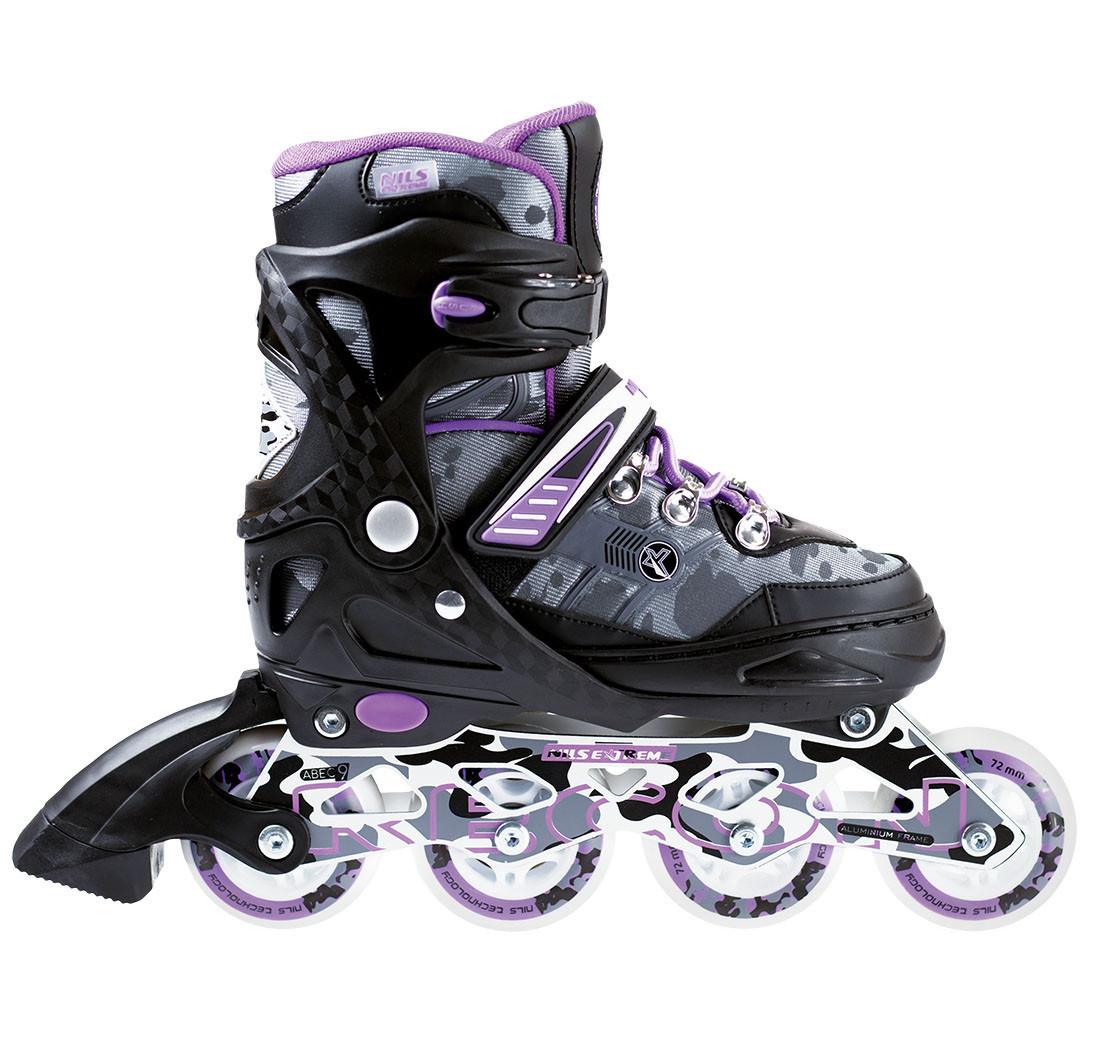 Роликовые коньки Nils Extreme NA1118A Size 35-38 Purple