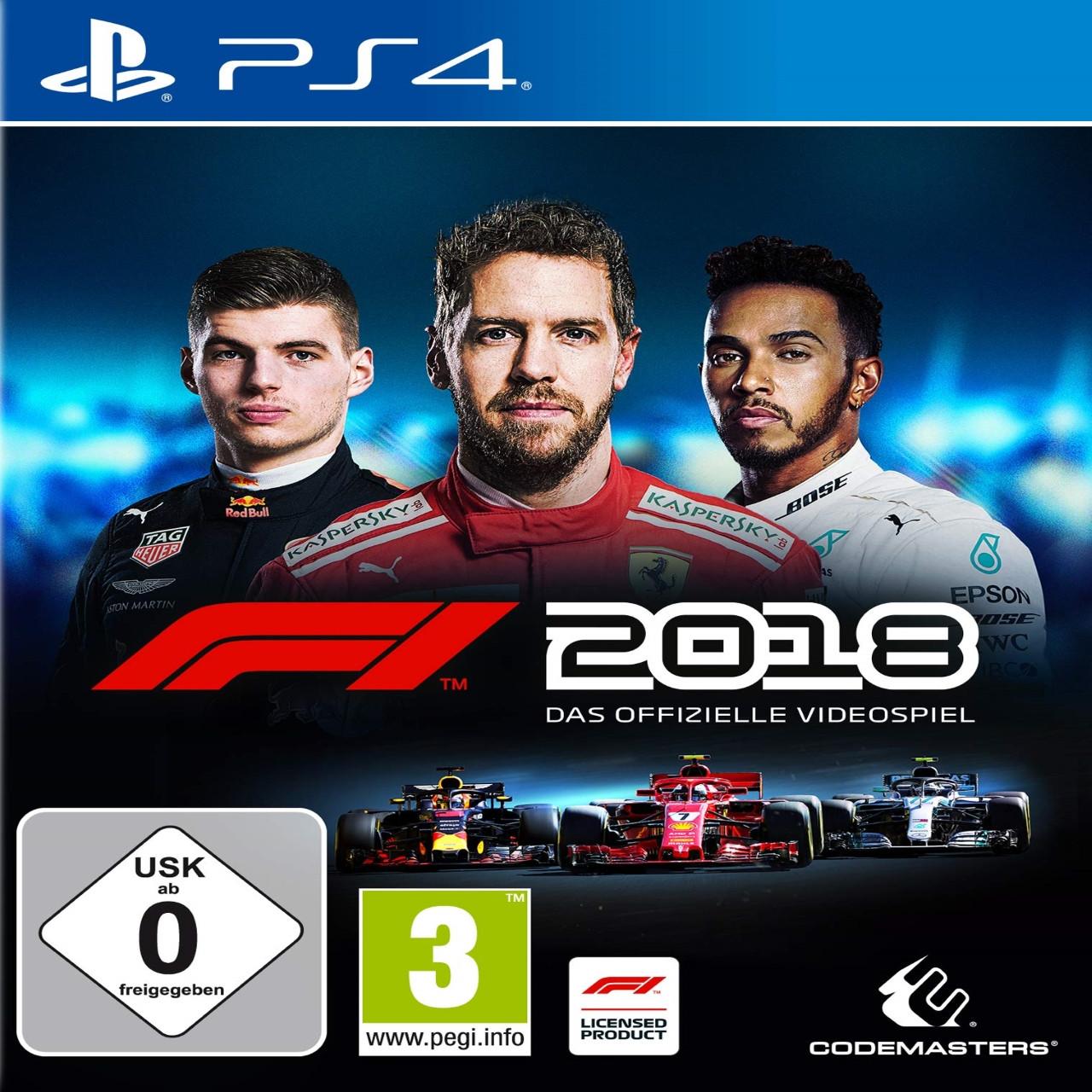 F1 2018 (російські субтитри) PS4