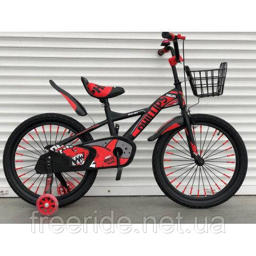 "Детский велосипед TopRider Shark ""605"" 20"