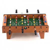 Настольный футбол деревянный на штангах 70-38-24см (2035)
