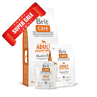 Сухой корм для собак Brit Care Adult Medium Breed Lamb & Rice 1 кг